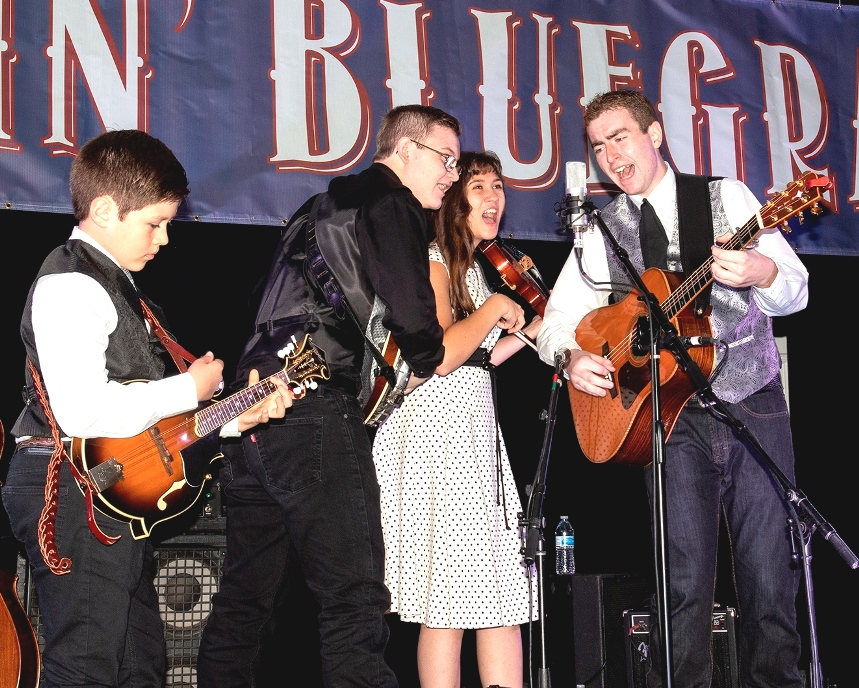 Kentucky Just Us performs at Bloomin' Bluegrass 2018 (photo by Perry Callahan)
