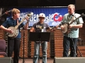 Mace Fain & Brian Janvier on stage at Acoustic Music Camp 2017