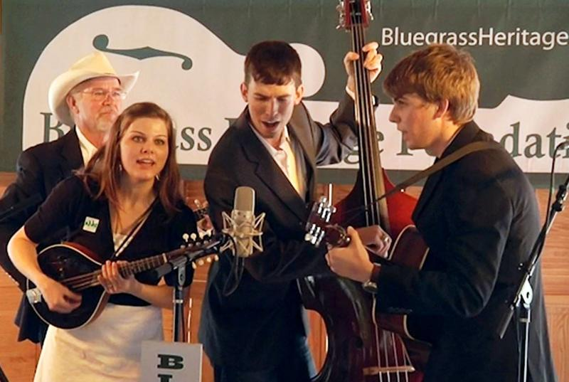 In Achordance, Winner of the 2014 Front Porch Showdown Bluegrass Band Contest. Photo courtesy David Seay.