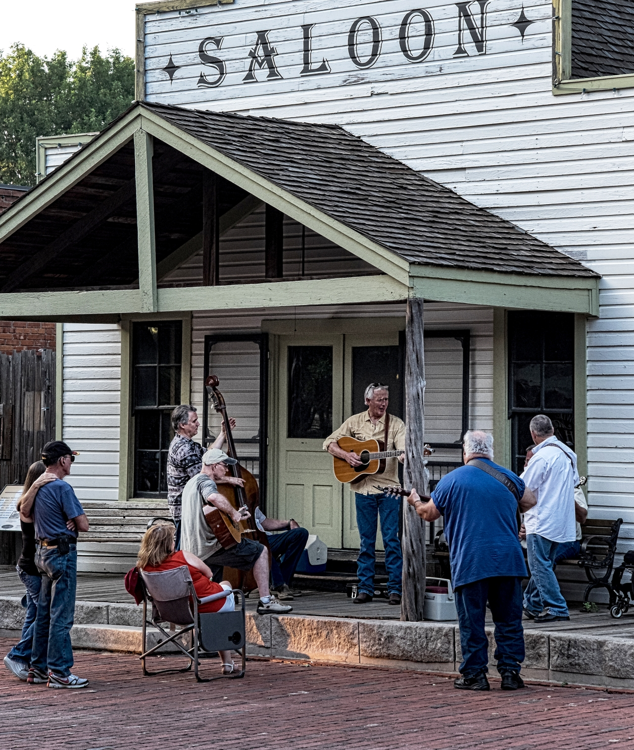 Jammers at Dallas Heritage Village Front Porch Showdown, May 2014. Courtesy John Jehman.