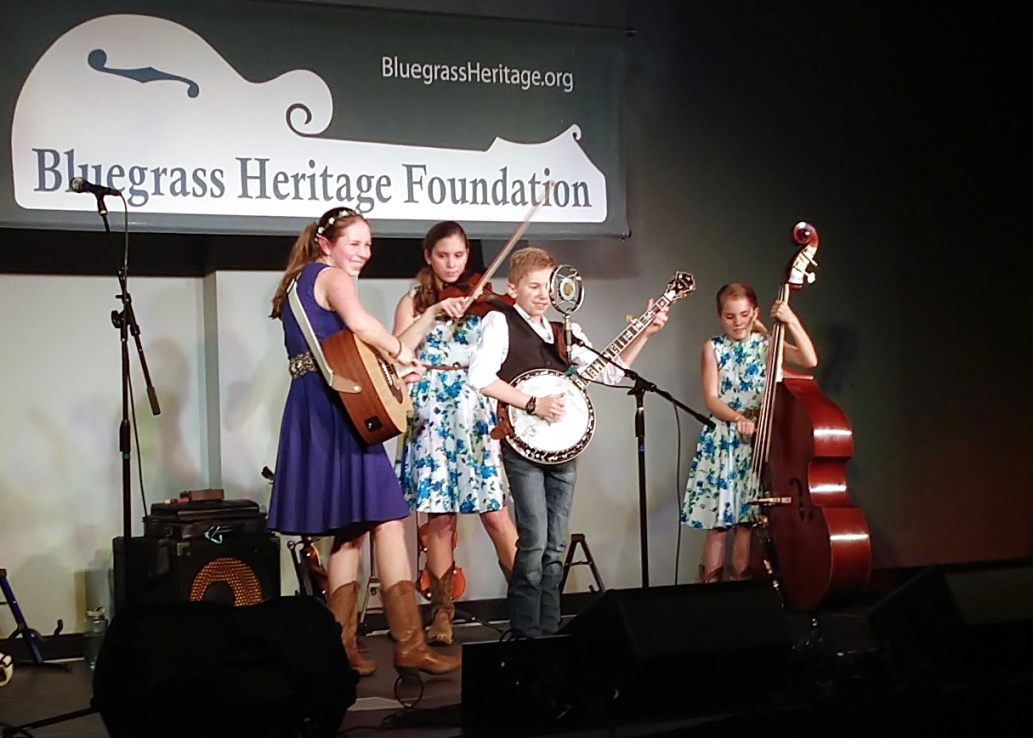Chords of Grace at Bluegrass Heritage Festival 2019.  Photo by Alan Tompkins.
