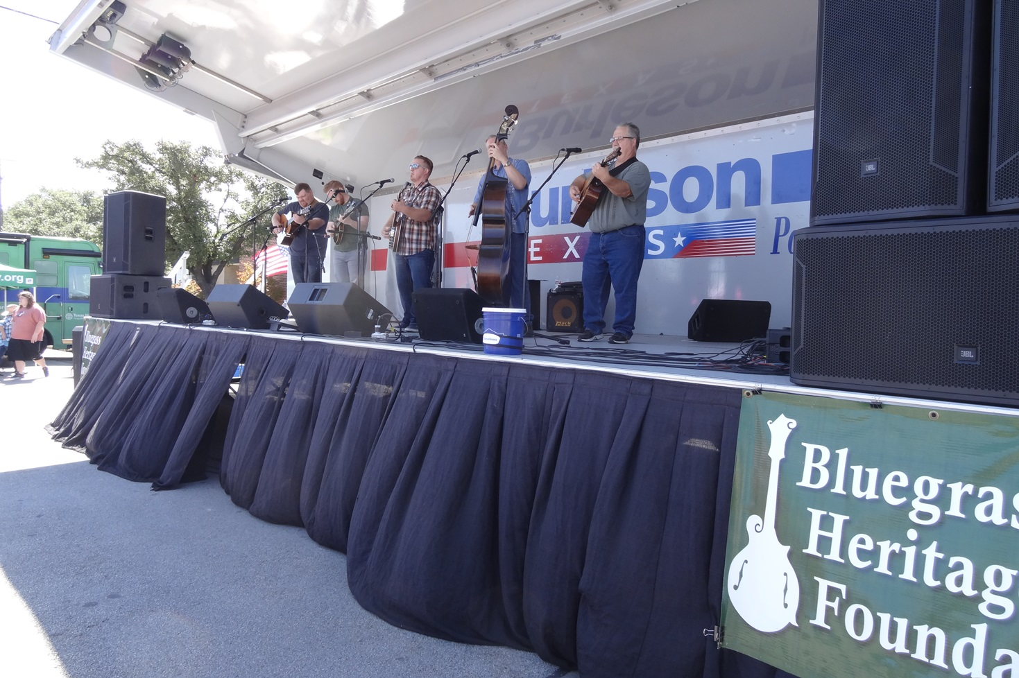 The Herrins at Bluegrass in Burleson 10-8-2016. Photo by Julie Tompkins.