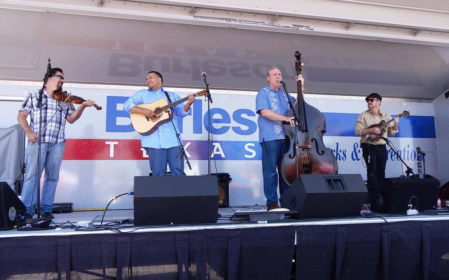 The Downtown String Band at Bluegrass in Burleson 10-8-2016. Photo by Julie Tompkins.