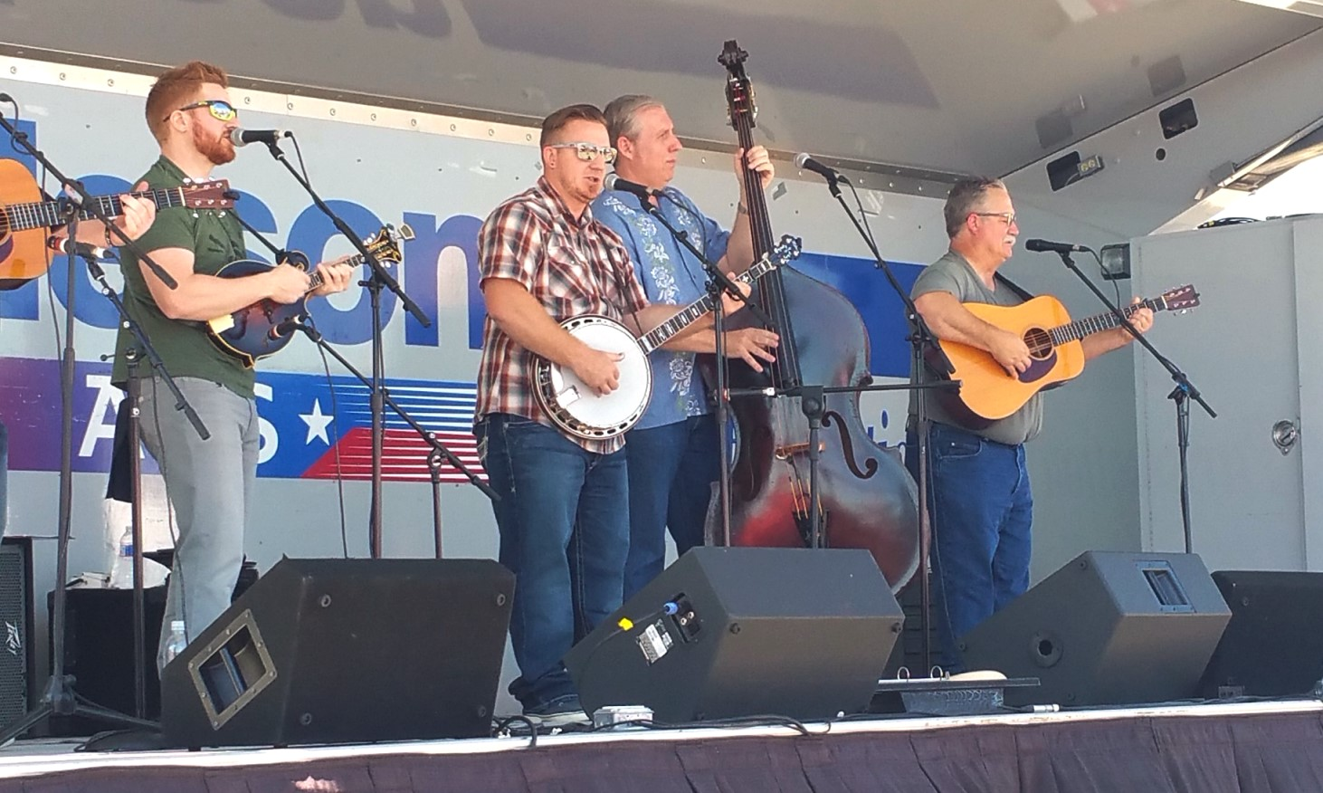 The Herrins at Bluegrass in Burleson 10-8-2016. Photo by Michael Johnson.