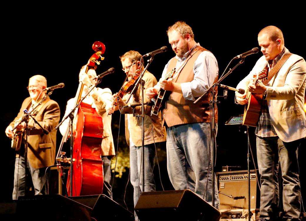 Balsam Range at Bloomin' Bluegrass Festival 2015. Photo by Nathaniel Dalzell