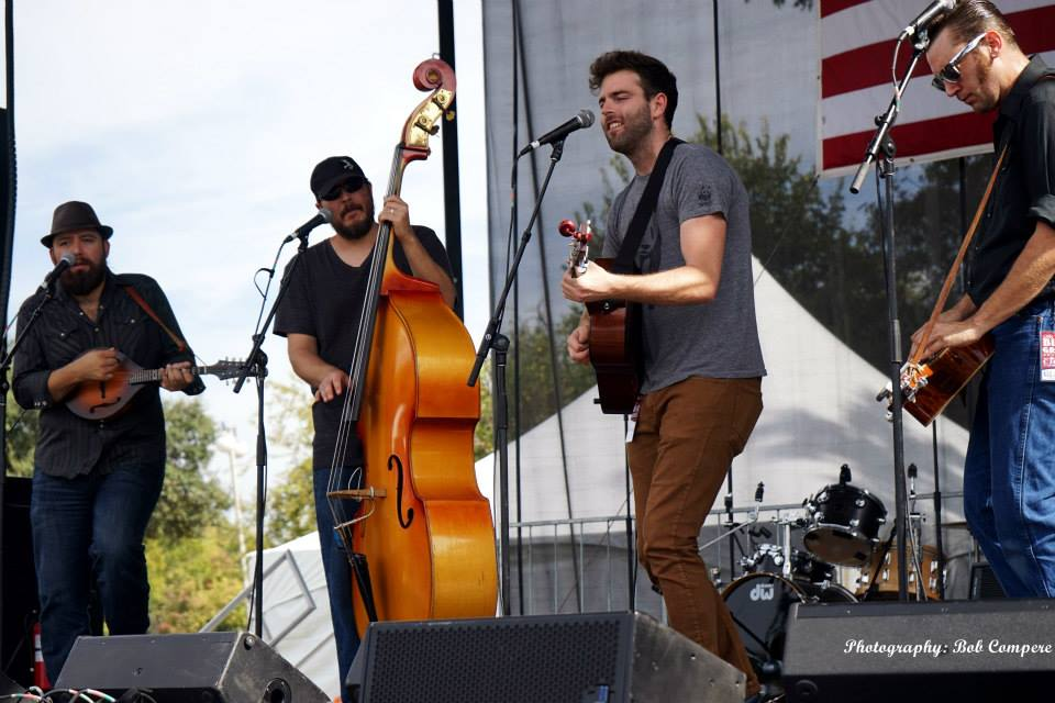 The Hillbenders at Bloomin' Bluegrass Festival 2015. Photo by Bob Compere