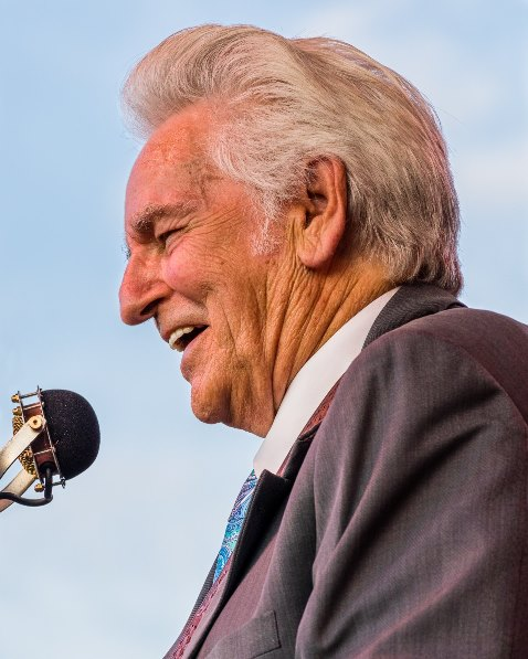 Del McCoury (Oct 2017)(photo by Nate Dalzell)