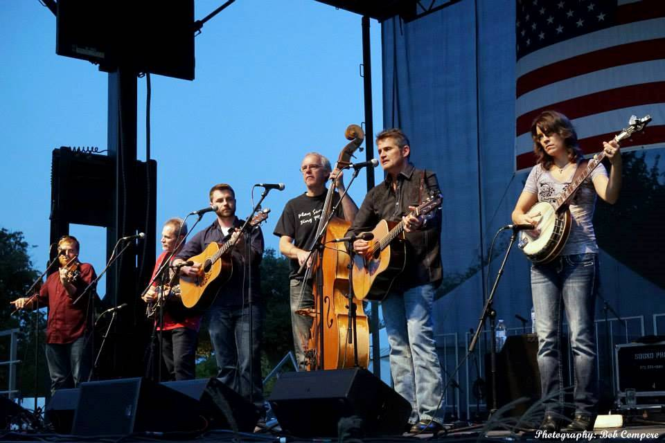 The Grascals at Bloomin' Bluegrass Festival 2015. Photo by Bob Compere