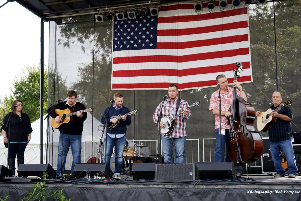 The Herrins at Bloomin' Bluegrass Festival 2015. Photo by Bob Compere