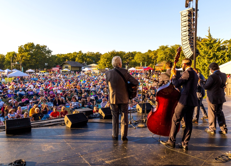 Del McCoury Band, Bloomin' 2019 (Nate Dalzell)