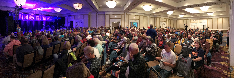 Omni Ballroom, Bloomin' Bluegrass 2018 (photo by Rich Ostrem)