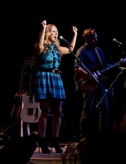 Lee Ann Womack at Bloomin' Bluegrass Festival 2015. Photo by Bob Compere