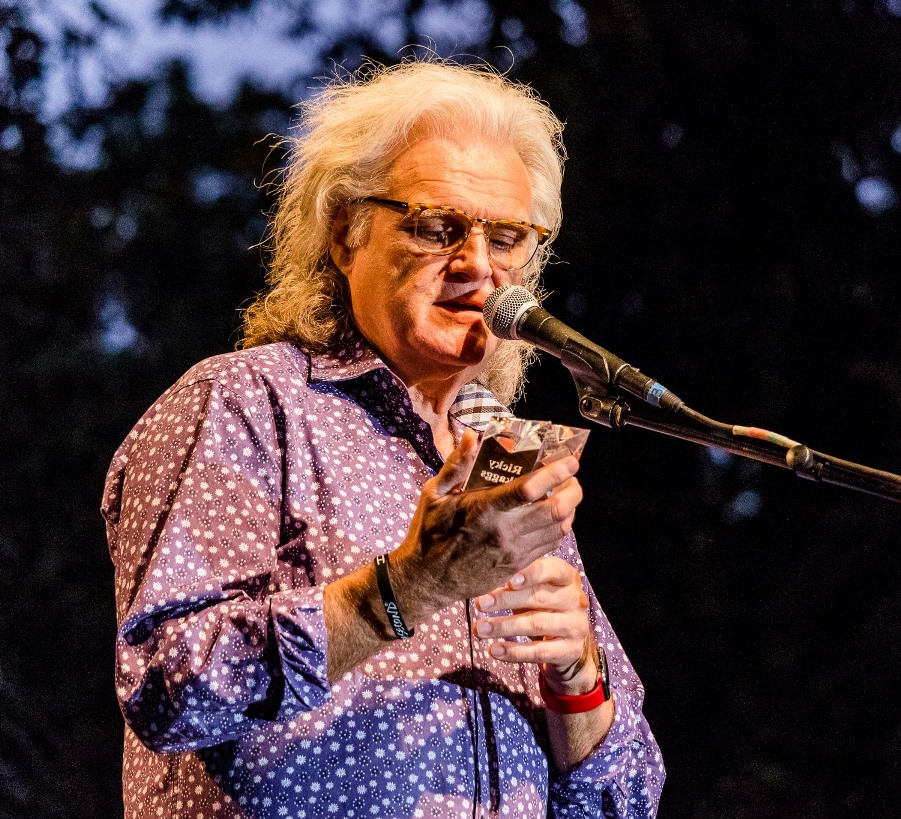 Ricky Skaggs Receives Bluegrass Star Award at Bloomin' Bluegrass 2017. Photo by Nathaniel Dalzell.