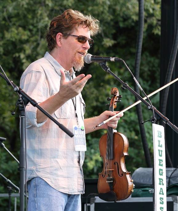 Tim O'Brien at Bloomin' Bluegrass Festival 2016. Photo by Nathaniel Dalzell.