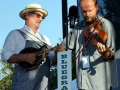 Mike Compton & Shadd Cobb of Helen Highwater at Bloomin' Bluegrass Festival 2015. Photo by Bob Compere