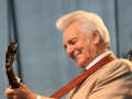 Del McCoury at Bloomin' Bluegrass Festival 2015. Photo by Mike Devaney.