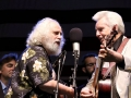 David Grisman & Del McCoury at Bloomin' Bluegrass Festival 2016. Photo by Nathaniel Dalzell.