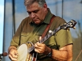 Steve Huber at Bloomin' Bluegrass Festival 2016. Photo by Bob Compere.