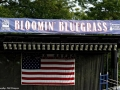 New stage banner for Bloomin' Bluegrass Festival 2016. Photo by Bob Compere.
