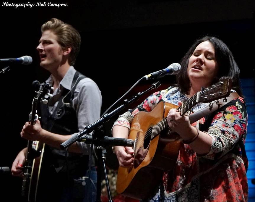 John Meyer & Amanda Smith at Lone Star Fest 2016. Photo by Bob Compere.
