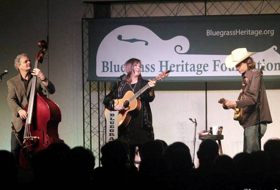 Suzy Bogguss Trio at Lone Star Fest 2015. Photo by Bob Compere.