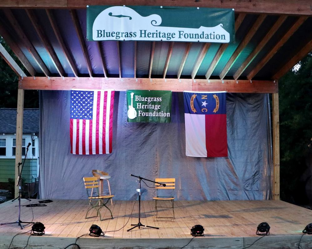 2021 NC State Championships Stage at Brewer's Kettle Kernersville (c. G. N. Hancock)
