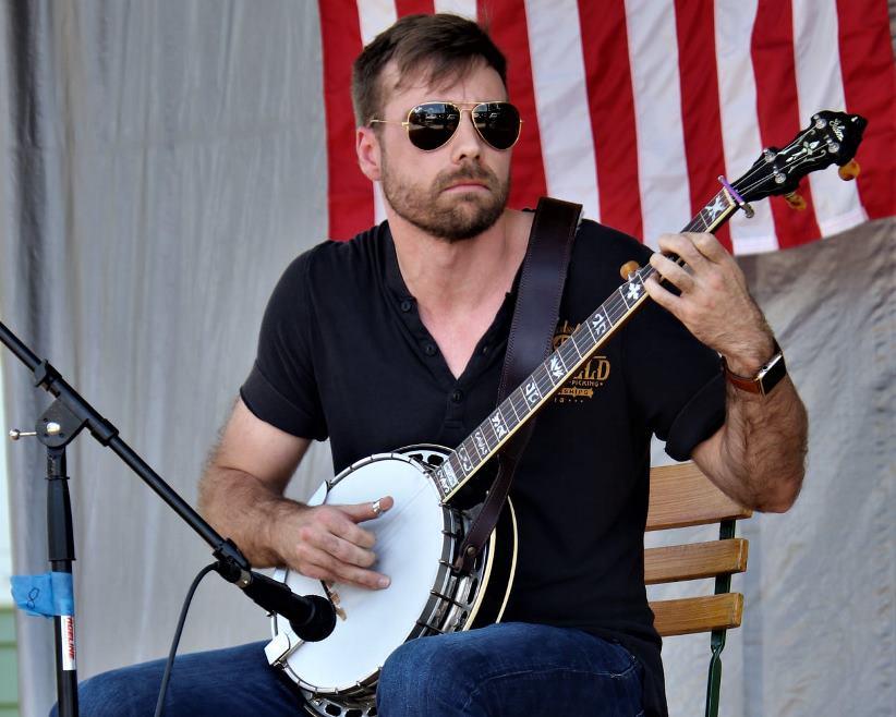 Banjo Contestant Dr. Gregg Welty (c. G. N. Hancock)