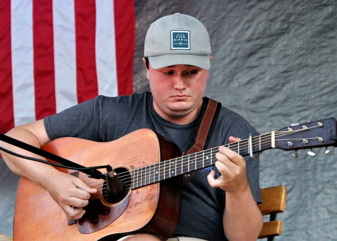 Guitar Contestant J Kyser George (c. G. N. Hancock)