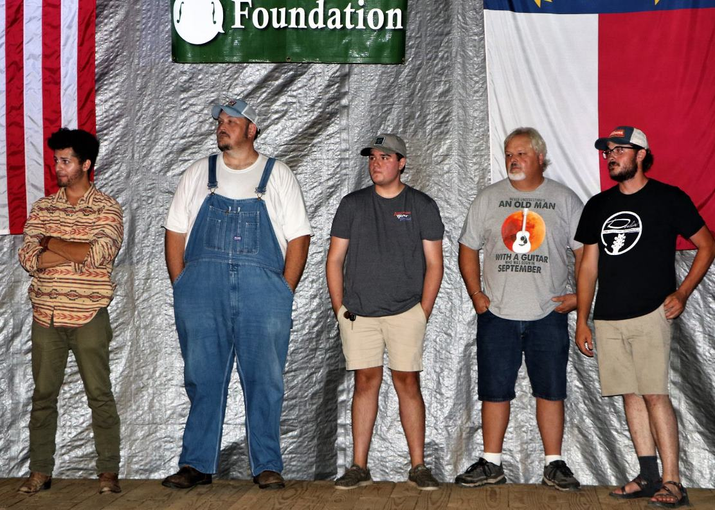 Guitar Finalists Harris, Hudson, George, Bullins, Chandler (c. G. N. Hancock)