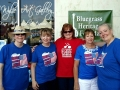 The Ladies of Bluegrass, Theresa Duffee, Julie Tompkins, Susie Seace, Pam Gates, and Neva Warnock at Wylie July 2016