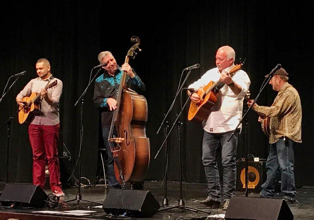 Downtown String Band in McKinney Texas Nov 16 2019 (photo by Leigh Taylor)