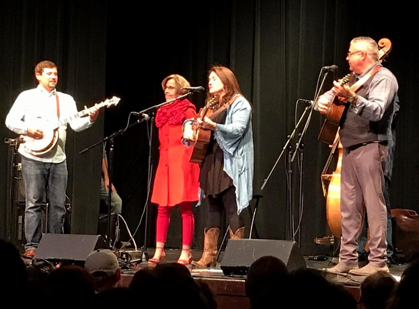 Shirley Owens 84th birthday in McKinney with Kenny & Amanda Smith (2019 photo Leigh Taylor)