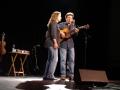 Tim O'Brien & Jan Fabricius at McKinney Perf Arts Ctr (11-4-2017) (photo by Alan Tompkins)