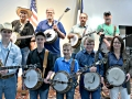 2019 Texas Banjo Contestants.  Photo by Fred Knorre.