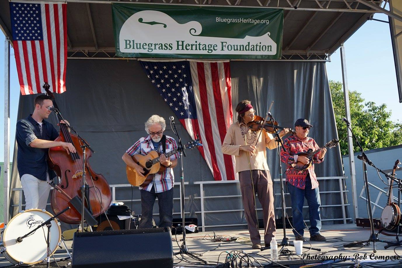 Sgt Pepper's Lonely Bluegrass Band at Wylie Jubilee 2015 (by Bob Compere)