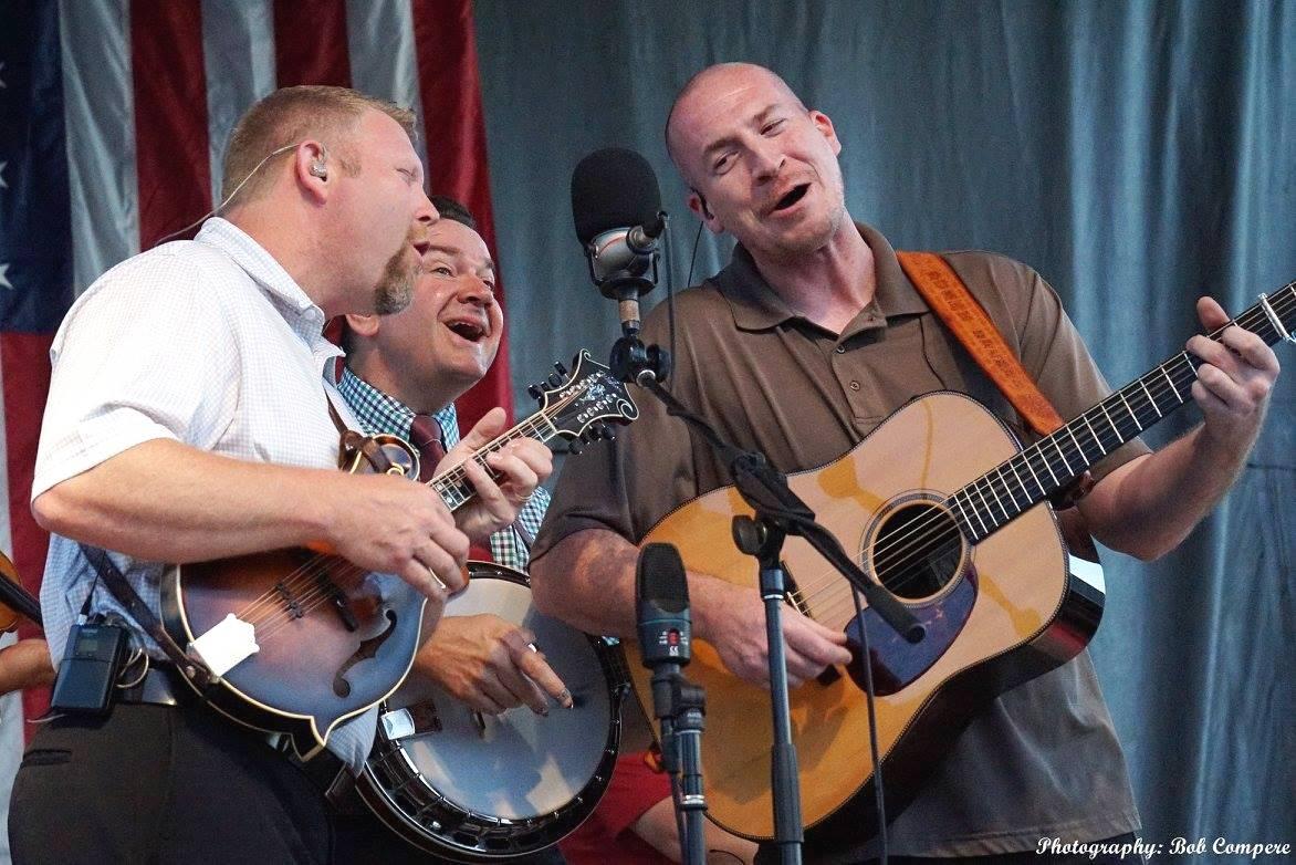Joe Mullins & The Radio Ramblers at Wylie Jubilee 6-28-2015 (by Bob Compere)