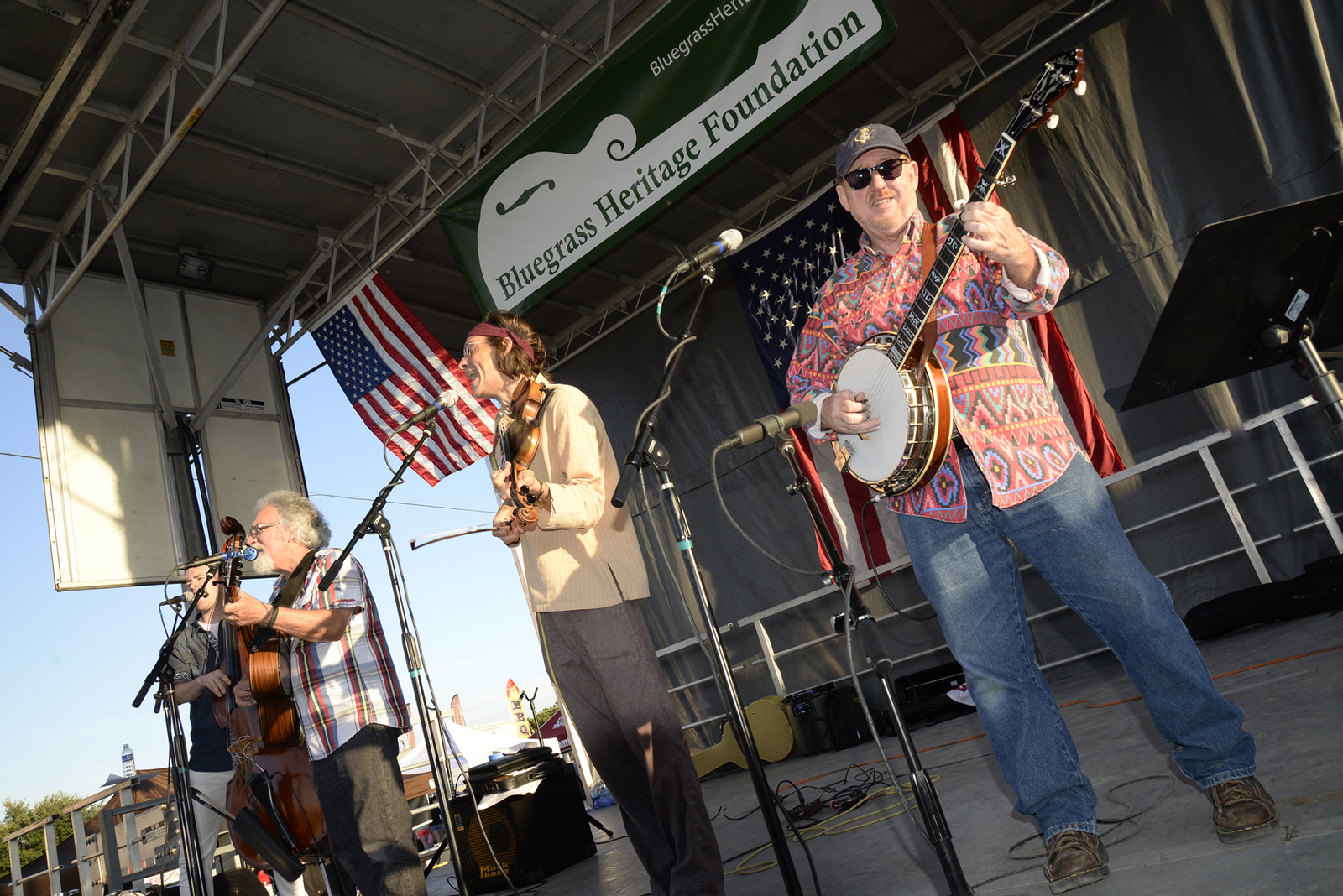Sgt Pepper's Lonely Bluegrass Band at Wylie Jubilee 2015 (by Craig Kelly)