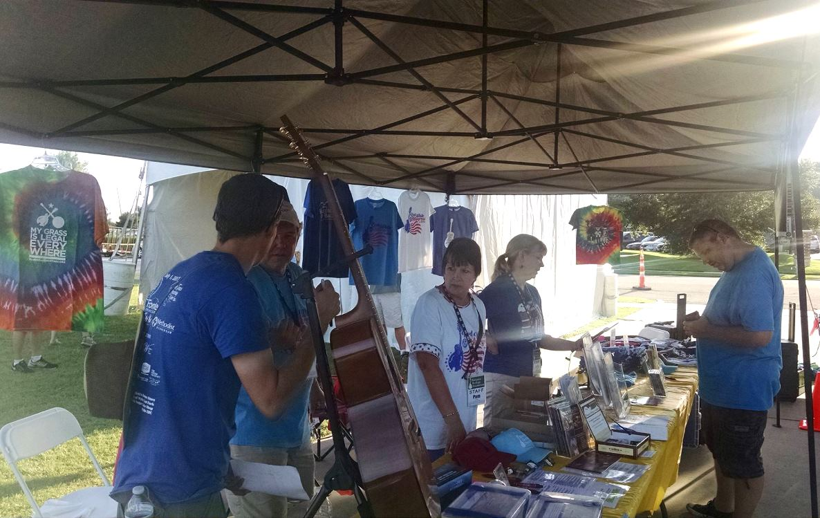 Volunteers in action at Wylie Jubilee 2017 by Mark Porter