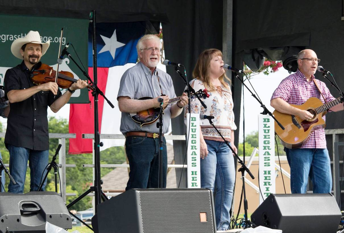 Bethlehem Bluegrass Band at Wylie Jubilee 2017 by Nate Dalzell