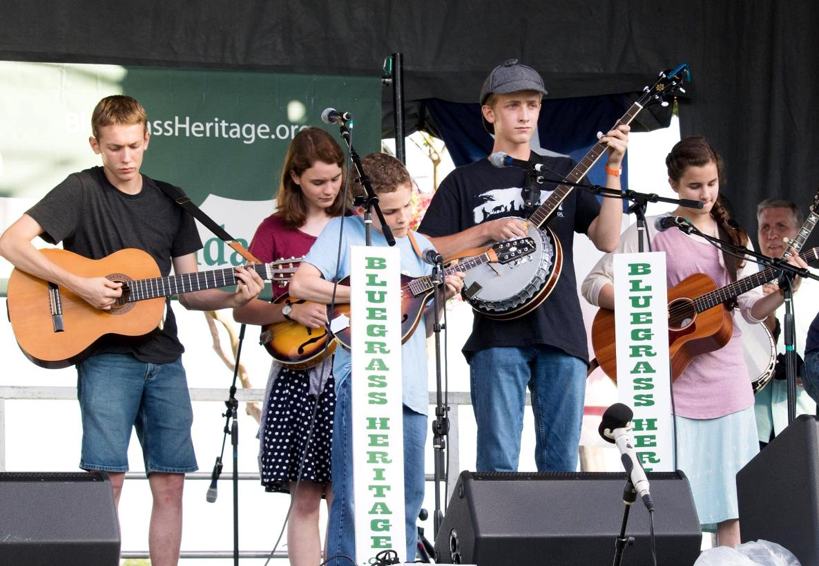 Growin' on Bluegrass Youth Band at Wylie Jubilee 2017 by Nate Dalzell