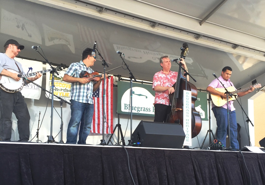 Downtown String Band at Wylie Jubilee 2016 by Brian Vining.