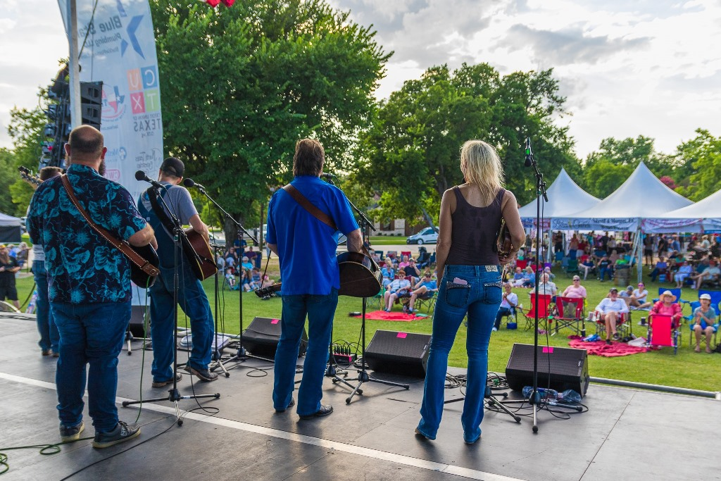 The Farm Hands at  Wylie Jubilee 2021. Photo by Nate Dalzell