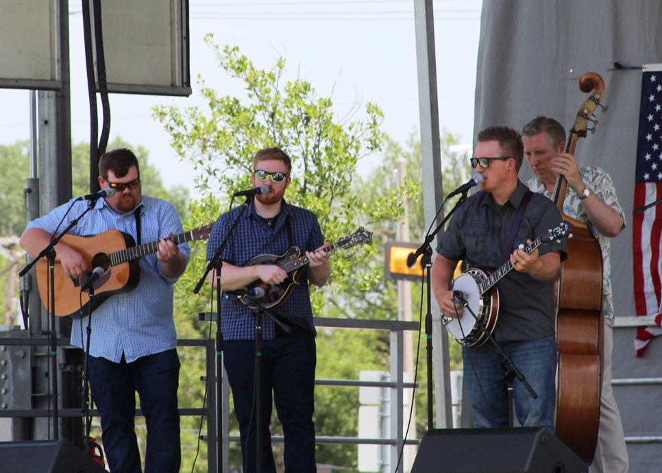 The Herrins at Wylie Jubilee 2018 (photo by David Ralston)