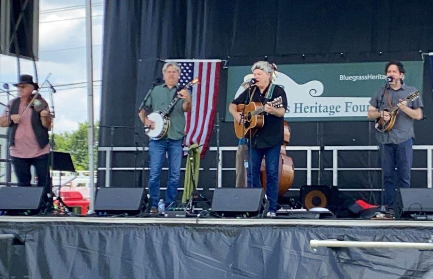 Randy Collier & Grassland at  Wylie Jubilee 2021. Photo by Kathy Nichols