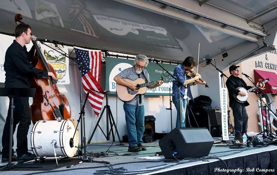 Sgt Peppers Lonely Bluegrass Band at Wylie Jubilee 2016 by Bob Compere