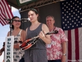 Play It Forward Instrument Lending Program Presentation to Olivia and Lottie King at Wylie Jubilee 2015 (by Bob Compere)