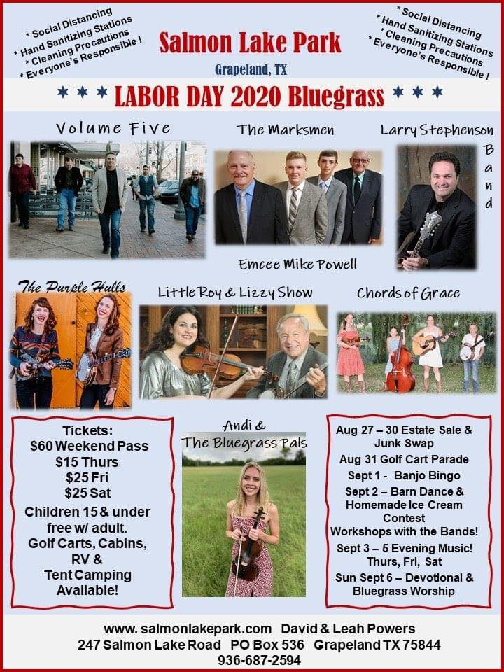 Salmon Lake Labor Day Fest Flyer