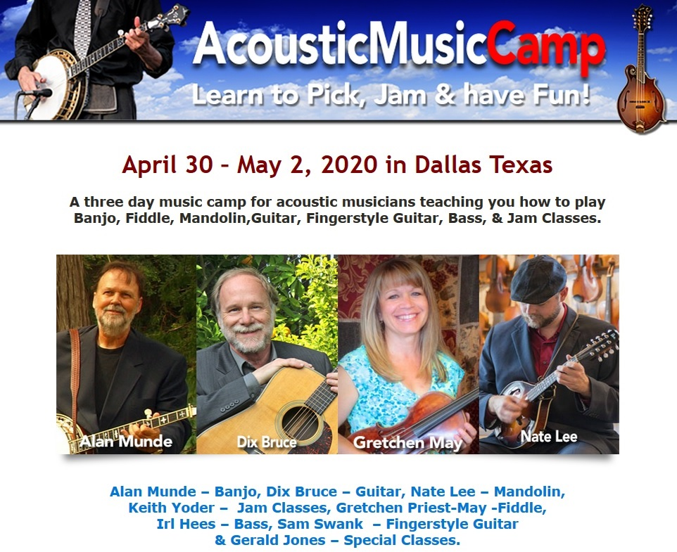 Acoustic Music Camp 2020