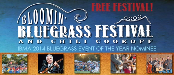 Bloomin' Bluegrass Festival and Chili Cook-Off 2015 - Farmers Branch Texas - 2014 IBMA Bluegrass Event of the Year Award Nominee