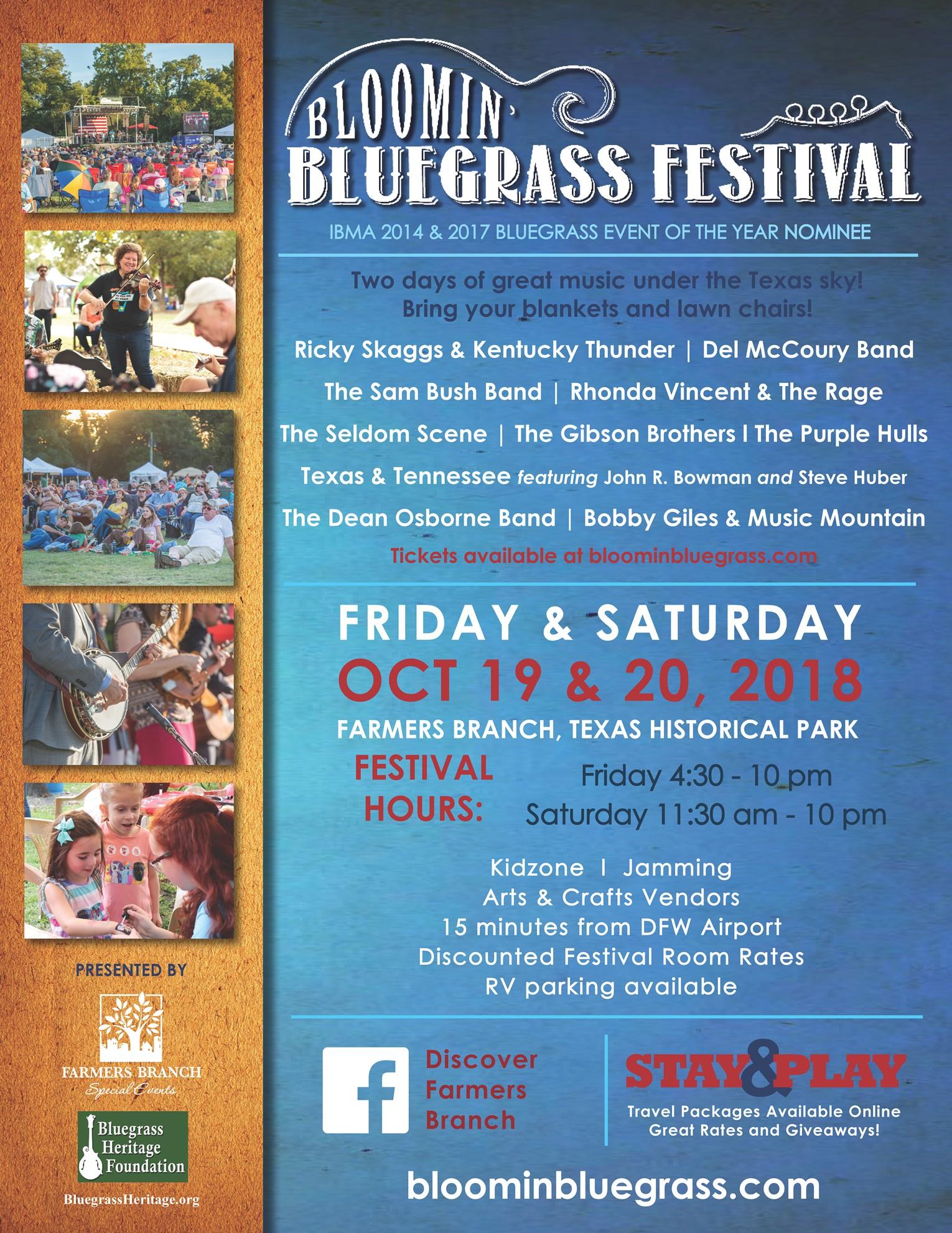 Bloomin' Bluegrass Festival 2018